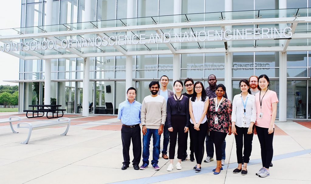 Dr. We's research group